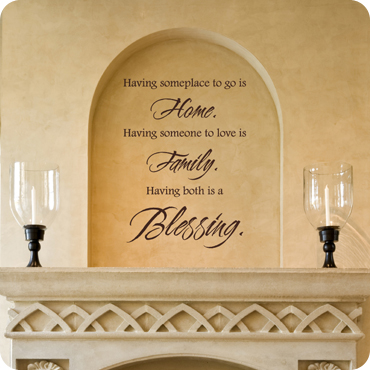 Wall Quotes For Living Room living room wall decals | wall quotes and sayings