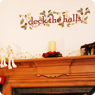 Deck the Halls (with Holly Leaves and Berries)