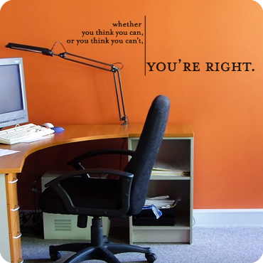 Office Quotes Wall Art Business Home Office Wall Quotes - Vinyl wall decals for office