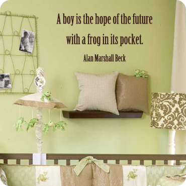 A Boy Is The Hope of The Future