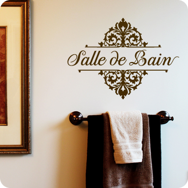 salle de bain french for bathroom topbottom embellished