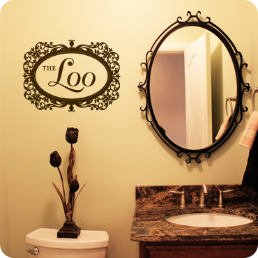 bathroom mirrors large the loo oval frame amp intricate detailing 11144