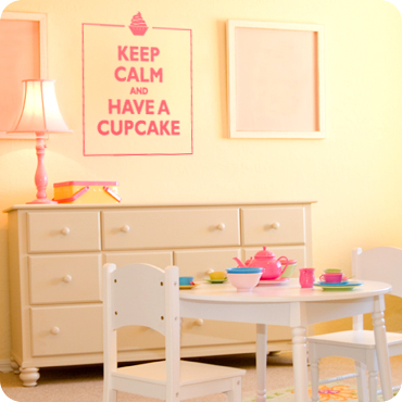 Keep Calm and Have a Cupcake