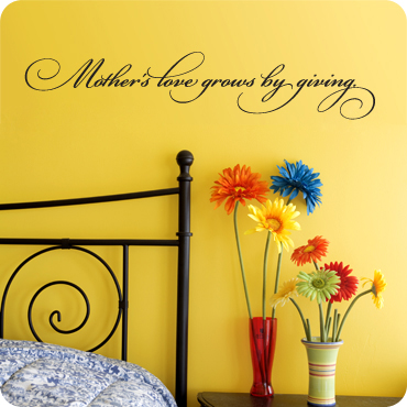 Mother's Love Grows by Giving