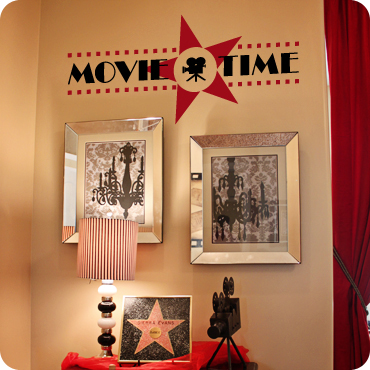 Game Room Wall Decals | Decals & Sayings for Home Theater