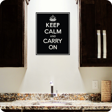 Keep Calm And Carry On (Filled)