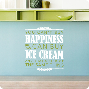 Happiness Is Ice Cream (Bold Version)