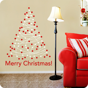 Merry Christmas! (Dotted Tree)