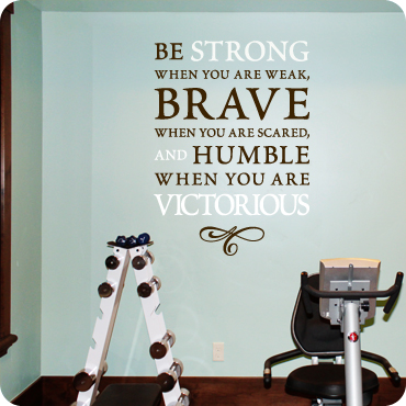 Be Strong, Brave, and Humble (Embellished Version)