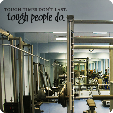 Tough Times Don't Last Tough People Do (Whimsical Version)