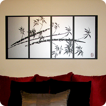 Bamboo Panels (Horizontal)