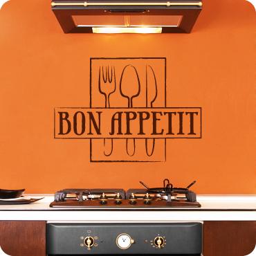 Bon Appetit Framed