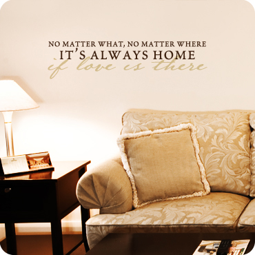 It's Always Home if Love is There (Elegant Version)