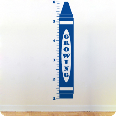 Crayon Growth Chart
