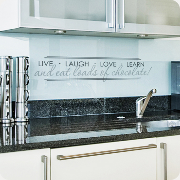 Kitchen Wall Decals, Quotes and Sayings | WallWritten.com on kitchen seat ideas, kitchen mural ideas, kitchen panel ideas, kitchen white ideas, kitchen tool ideas, kitchen decor ideas, kitchen plug ideas, kitchen wall ideas, kitchen wood ideas, kitchen knob ideas, kitchen hat ideas, kitchen exhaust ideas, blue and green kitchen ideas, kitchen signs ideas, kitchen label ideas, kitchen embroidery ideas, kitchen tattoo ideas, kitchen decals and stickers, kitchen magnetic ideas, kitchen plate ideas,