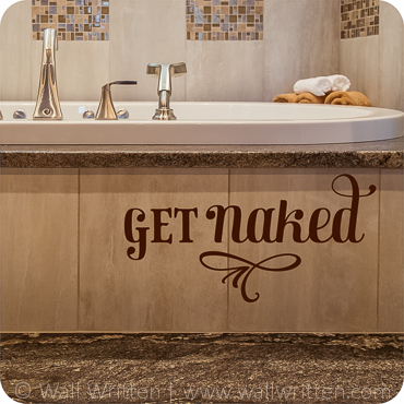 Bathroom Wall Decals, Quotes and Sayings | Wall Written