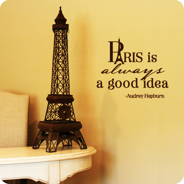 Paris Is Always A Good Idea (1-Color Version)
