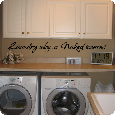 Laundry Room Wall Decals Wall Quotes And Sayings - Custom vinyl wall decals sayings for laundry room