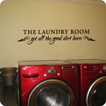 Laundry Room Vinyl Wall Quotes Laundry Room Wall Decals  Wall Quotes And Sayings