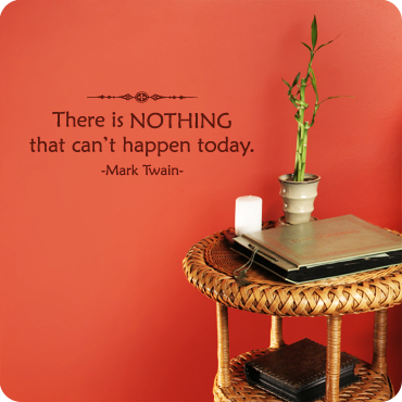 There is Nothing that Can't Happen Today (Centered Version)