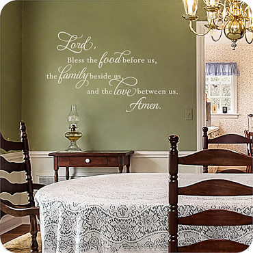 kitchen wall decals, quotes and sayings | wallwritten