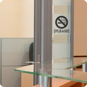 No Smoking Sign {Please}