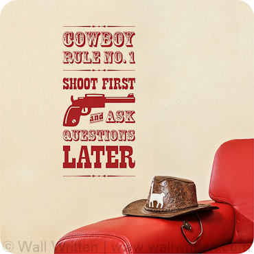 Shoot First Ask Questions Later