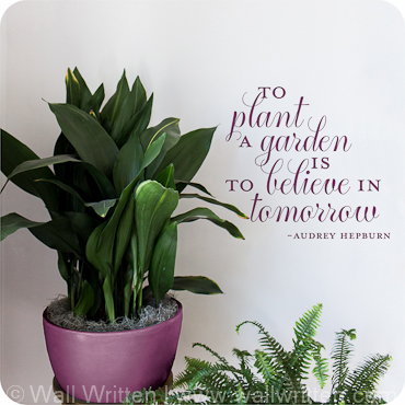 To Garden, is to Believe