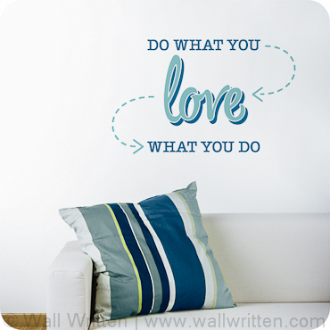 Do what you love (2-color version)
