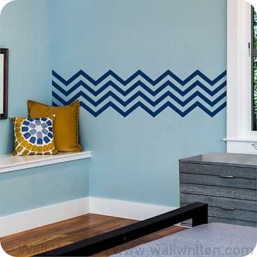 Thin Chevron Stripes
