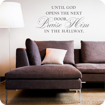 Praise Him in the Hallway (Centered Version)