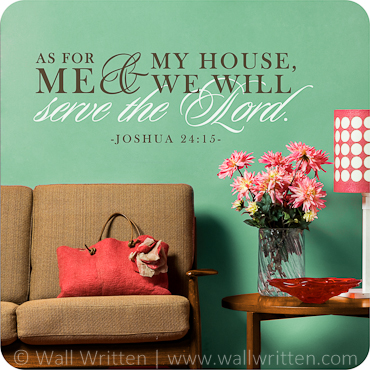 We Will Serve the Lord (Horizontal Version)