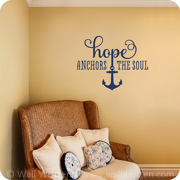 Hope Anchors the Soul (One Color Option)