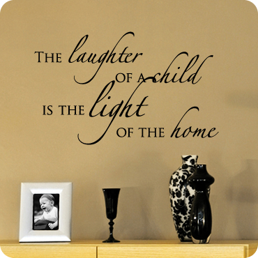 A Child's Laughter Lights a Home