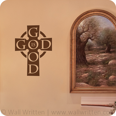 God is Good (Bold Cross)