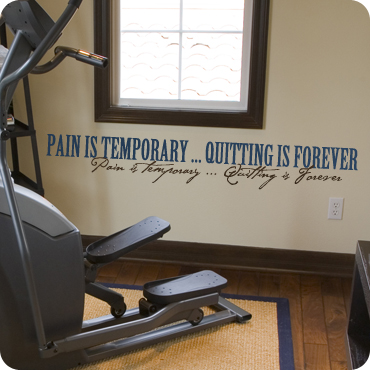 Pain is Temporary (Bold & Script)