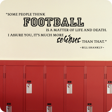 Football - A Matter of Life and Death