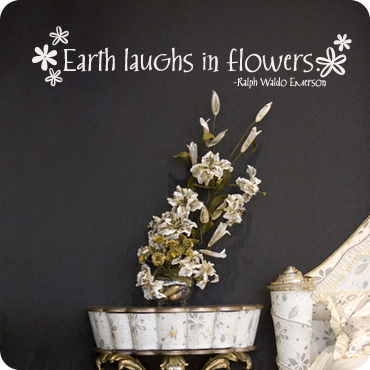Earth Laughs in Flowers (Whimsical Style)