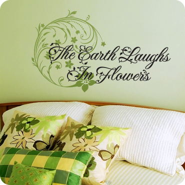 Earth Laughs in Flowers (Floral Style)