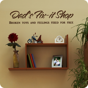 Dad's Fix-It Shop
