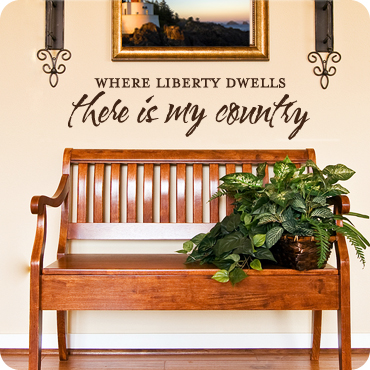 Liberty Dwells in my Country
