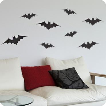 Cluster of Bats & Halloween Wall Art u0026 Decals   Wall Written