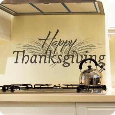 Fall & Thanksgiving Wall Art & Decals | Wall Written