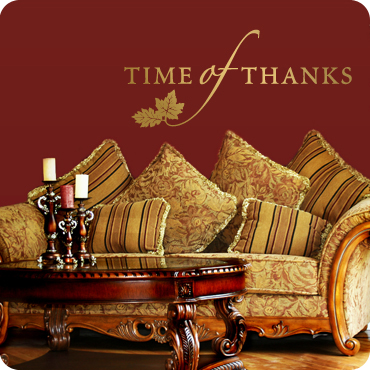 Time of Thanks (Script Style)