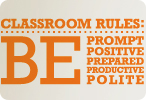 Classroom Rules (One Color Version)