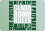 Classroom Rules (Two Color Version)