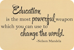 Education Can Change the World (Script Version)