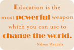 Education Can Change the World (Staggered Version)