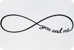 You and Me (Infinity Symbol)