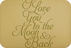 Love You to the Moon (Elegant Version)